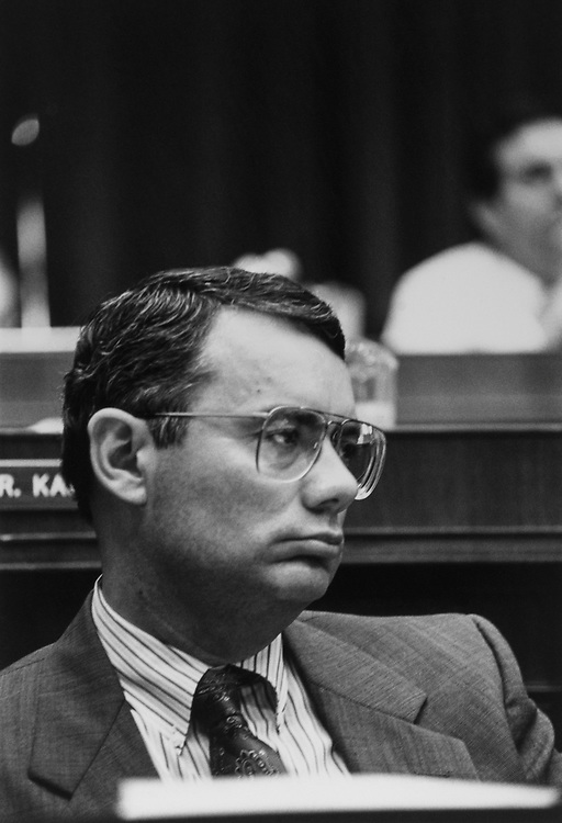 Rep. Jim Bacchus, D-Flo., in September 1991. (Photo by Maureen Keating/CQ Roll Call via Getty Images)