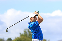 Kevin Connaughton (Roscommon) on the 14th tee during the Final round in the Connacht U16 Boys Open 2018 at the Gort Golf Club, Gort, Galway, Ireland on Wednesday 8th August 2018.<br /> Picture: Thos Caffrey / Golffile