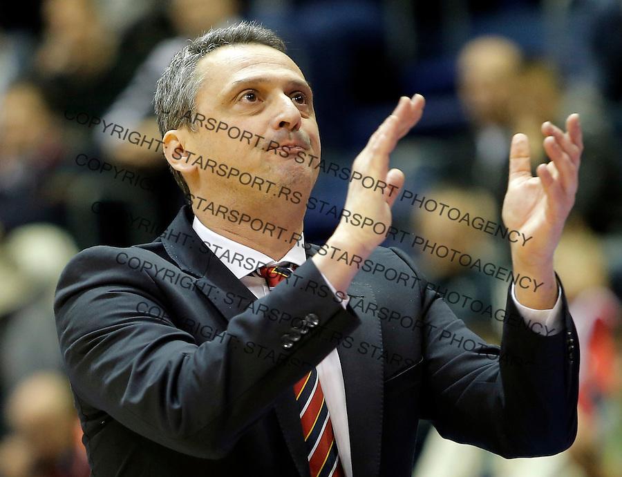 Dejan Radonjic Crvena Zvezda - Cedevita kosarka ABA regionalna liga 4.1.1016. Januar 4. 2016. (credit image & photo: Pedja Milosavljevic / STARSPORT)