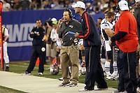 Head Coach Bill Belichick und Offensive Coordinator Josh McDaniels (Patriots)
