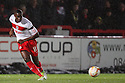 Lucas Akins of Stevenage.Stevenage v Crawley Town - npower League 1 -  Lamex Stadium, Stevenage - 15th December, 2012. © Kevin Coleman 2012..
