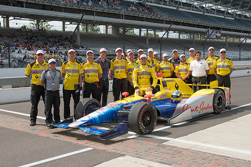 21-22 May, 2016, Indianapolis, Indiana, USA<br /> Townsend Bell   qualifying photo<br /> ©2016, Geoffrey M. Miller, LAT Photo USA