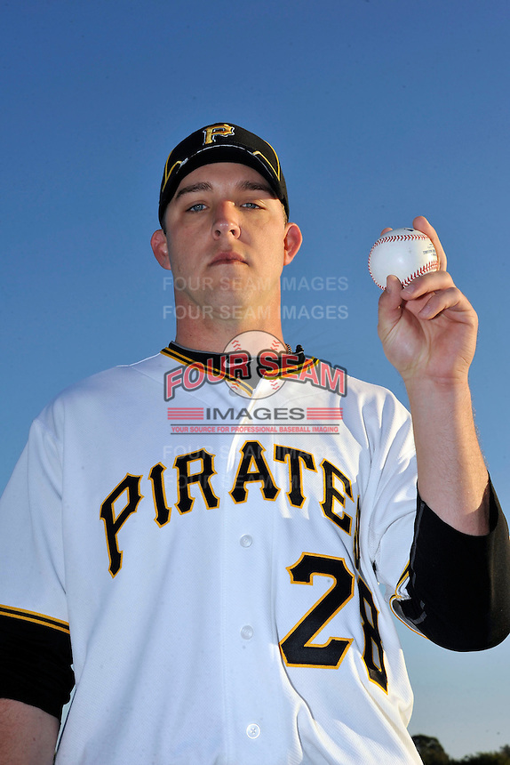 Feb 28, 2010; Bradenton, FL, USA; Pittsburgh Pirates  pitcher Paul Maholm (28) during  photoday at Pirate City. Mandatory Credit: Tomasso De Rosa/ Four Seam Images