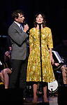 Paul Alexander Nolan and Carmen Cusack  on stage during 'Bright Star' In Concert at Town Hall on December 12, 2016 in New York City.