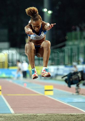 04.09.2012.  Rovereto, Italy.  Keila COSTA (BRA) in action during the European Meeting Athletics 2012 IAAF Palio della Quercia Meeting
