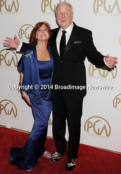 Pictured: Jerry Weintraub; Jane Morgan<br /> Mandatory Credit &copy; Joseph Gotfriedy/Broadimage<br /> 25th Annual Producers Guild Awards<br /> <br /> 1/19/14, Beverly Hills, California, United States of America<br /> <br /> Broadimage Newswire<br /> Los Angeles 1+  (310) 301-1027<br /> New York      1+  (646) 827-9134<br /> sales@broadimage.com<br /> http://www.broadimage.com
