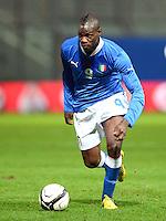 Fussball International  Freundschaftsspiel   14.11.2012 Italien - Frankreich Mario Balotelli (Italien)