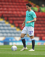 Blackburn Rovers' Lewis Travis during the pre-match warm-up <br /> <br /> Photographer Kevin Barnes/CameraSport<br /> <br /> The EFL Sky Bet Championship - Blackburn Rovers v Bolton Wanderers - Monday 22nd April 2019 - Ewood Park - Blackburn<br /> <br /> World Copyright © 2019 CameraSport. All rights reserved. 43 Linden Ave. Countesthorpe. Leicester. England. LE8 5PG - Tel: +44 (0) 116 277 4147 - admin@camerasport.com - www.camerasport.com