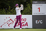 Golfer Michelle Sun of Hong Kong during the 2017 Hong Kong Ladies Open on June 9, 2017 in Hong Kong, China. Photo by Chris Wong / Power Sport Images