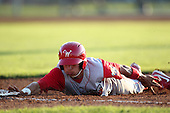 Williamsport Crosscutters infielder Cesar Hernandez (7) during a game vs the Batavia Muckdogs at Dwyer Stadium in Batavia, New York July 26, 2010.   Batavia defeated Williamsport 3-2.  Photo By Mike Janes/Four Seam Images