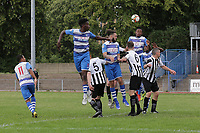 Elliot Browne of Ilford goes close during Ilford vs Harwich & Parkeston, Emirates FA Cup Football at Cricklefields Stadium on 10th August 2019