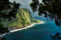 Waipio Valley Overlook. Hawaii, The Big Island