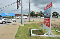 NWA Democrat-Gazette/MICHAEL WOODS &bull; @NWAMICHAELW<br /> The proposed 8W Center project is expected to open the Summer of 2016.  The  80,000 square foot building will be located at 805 S Walton Blvd across from the Walmart Home office on the same location as the current Jimmy Johns location.