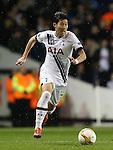 Tottenham's Heung-Min Son in action<br /> <br /> UEFA Europa League - Tottenham Hotspur v Monaco - White Hart Lane - England -10th December 2015 - Picture David Klein/Sportimage