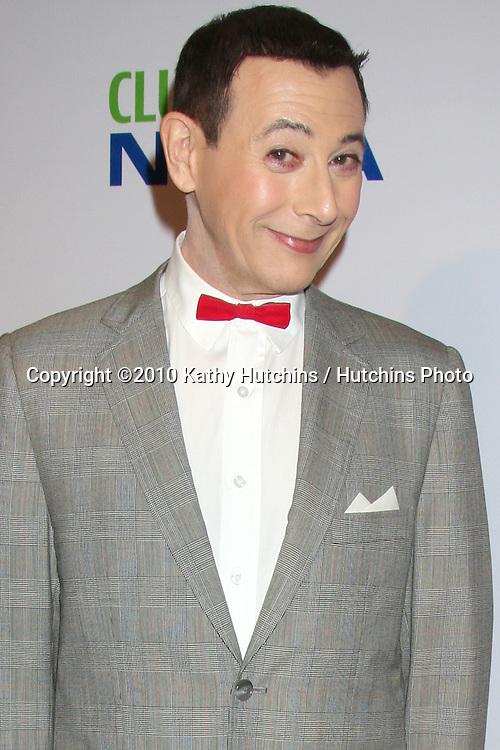 "Paul Reubens aka PeeWee Herman.arriving at the ""The Pee Wee Herman Show"" Opening Night..Club Nokia.Los Angeles, CA.January 20, 2010.©2010 Kathy Hutchins / Hutchins Photo...."