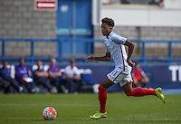 Chris Willock (Arsenal) of England U19 during the International match between England U19 and Netherlands U19 at New Bucks Head, Telford, England on 1 September 2016. Photo by Andy Rowland.