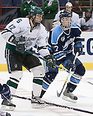 David Booth, John Hopson - The University of Maine Black Bears defeated the Michigan State University Spartans 5-4 on Sunday, March 26, 2006, in the NCAA East Regional Final at the Pepsi Arena in Albany, New York.