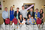 ***Reproduction Free***<br /> JDM Photography<br /> Photographer : Michael Collins<br /> <br /> Celebrating the christening of Baby Hannah Quirke in Leen's Hotel, Abbeyfeale on Saturday were her parents Karen and Con Quirke, Mountcollins and brothers Conor and Tadhg Quirke, pictured here with family and friends.