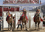 Racers compete in the media challenge portion of the 51st Annual Virginia City International Camel Races in Virginia City, Nev. on Sept. 10, 2010..Photo by Cathleen Allison
