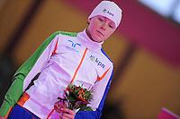 SCHAATSEN: BERLIJN: Sportforum, 06-12-2013, Essent ISU World Cup, podium 3000m Ladies Division B, Jorien ter Mors (NED), ©foto Martin de Jong