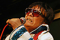 May 19, 2010 - Tokyo, Japan - 'Elvis Alan Kizusuley' performs on stage at Live House STAGE-1 in Tokyo, Japan, on May 19, 2010. The 68-year-old Japanese rock 'n roll & country singer started singing Elvis Presley songs in 1957. He continues to put on high-energy shows in Japan several times a year.