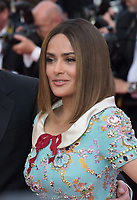 Salma Hayek at the 70th Anniversary Gala for the Festival de Cannes, Cannes, France. 23 May 2017<br /> Picture: Paul Smith/Featureflash/SilverHub 0208 004 5359 sales@silverhubmedia.com
