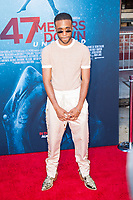 Los Angeles, CA - AUGUST 13th: <br /> Khylin Rhambo attends the 47 Meters Down: Uncaged premiere at the Regency Village Theater on August 13th 2019. Credit: Tony Forte/MediaPunch