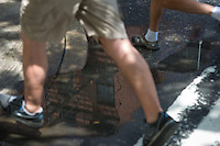 PHILADELPHIA, PA: Photo walk July 14, 2013 in the Old City section of Philadelphia, Pennsylvania. (Photo by William Thomas Cain)
