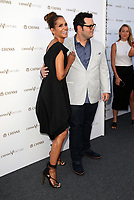 "LOS ANGELES, CA July 13- Halle Berry, Josh Gad, At Chivas Regal ""The Final Pitch"" at The LADC Studios, California on July 13, 2017. Credit: Faye Sadou/MediaPunch"