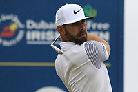Erik Van Rooyen (RSA) tees off the 2nd tee during Saturday's Round 3 of the 2018 Dubai Duty Free Irish Open, held at Ballyliffin Golf Club, Ireland. 7th July 2018.<br /> Picture: Eoin Clarke | Golffile<br /> <br /> <br /> All photos usage must carry mandatory copyright credit (&copy; Golffile | Eoin Clarke)