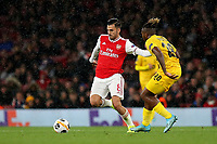 Dani Ceballos of Arsenal in possession during Arsenal vs Standard Liege, UEFA Europa League Football at the Emirates Stadium on 3rd October 2019