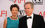 CULVER CITY, CA. - June 10: Annette Bening and Warren Beatty arrive at the 38th Annual Lifetime Achievement Award Honoring Mike Nichols held at Sony Pictures Studios on June 10, 2010 in Culver City, California.