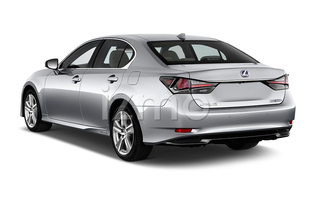 Car pictures of rear three quarter view of 2017 Lexus GS Executive-Line 4 Door Sedan Angular Rear