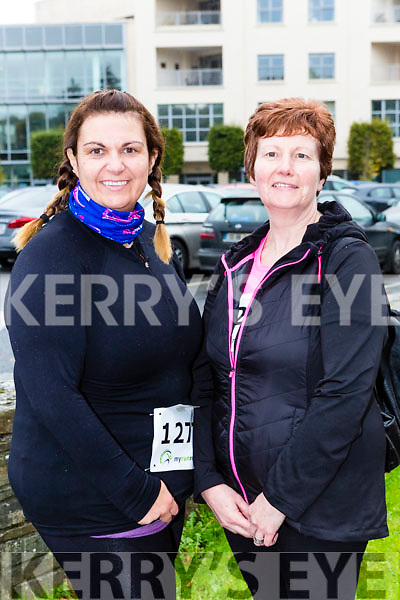 Michelle and Noreen O'Shea Keel at the Killarney Women's mini-marathon on Saturday