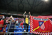 16th May 2018, Stade de Lyon, Lyon, France; Europa League football final, Marseille versus Atletico Madrid; Atletico fans in full voice before the game