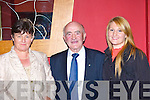 Sheila Kearney Cordal, Frank Sayers Tralee and Therese Kearney Cordal at the retirement dance for Canon Denis O'Mahony in the River Island Hotel Castleisland on Friday evening      Copyright Kerry's Eye 2008