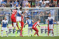 Kopfballchance Aytec Sulu (SV 98) - SV Darmstadt 98 vs. SV Sandhausen, Stadion am Boellenfalltor