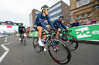 Picture by Allan McKenzie/SWpix.com - 15/05/2018 - Cycling - OVO Energy Tour Series Mens Race Round 2:Motherwell - Jon Mould.