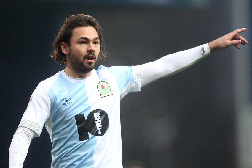 Blackburn Rovers Bradley Dack<br /> <br /> Photographer Mick Walker/CameraSport<br /> <br /> The EFL Sky Bet Championship - Blackburn Rovers v Ipswich Town - Saturday 19 January 2019 - Ewood Park - Blackburn<br /> <br /> World Copyright © 2019 CameraSport. All rights reserved. 43 Linden Ave. Countesthorpe. Leicester. England. LE8 5PG - Tel: +44 (0) 116 277 4147 - admin@camerasport.com - www.camerasport.com