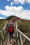 CSBSJU Group Hiking, Sendero las orquideas (orchid trail)