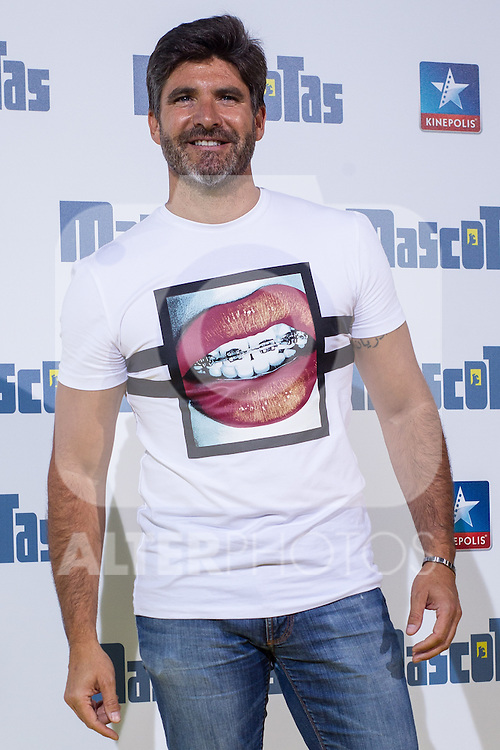 Spanish agent Tono Sanchis during the premiere of  Mascotas at Kinepolis cinema in Madrid. July 21, 2016. (ALTERPHOTOS/Rodrigo Jimenez)