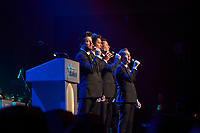 "ST. PAUL, MN JULY 16: ARIA perform at the Starkey Hearing Foundation ""So The World May Hear Awards Gala"" on July 16, 2017 in St. Paul, Minnesota. Credit: Tony Nelson/Mediapunch"
