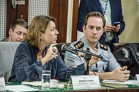 """Rio de Janeiro (RJ), 25/08/2019 - Audiência Publica / Rio - A Deputada Martha Rocha (membro efetivo) e o Deputado, Delegado Carlos Augustos (Presidente da CSPAP) e Coronel Fernando Salema (vice-presidente da CSPAP) solicitaram uma comissão de Segurança Pública e Assuntos de Policia para uma audiência pública com o tema garantias legais para os policiais como """"Snipers"""" e o uso de helicópteros, blindados e equipamentos em operações policiais do Estado no Rio de Janeiro,  A Coordenadora do GAESP e o Tenente Coronel Rogério Perlingeiro fizeram parte da audiência pública na tarde desta segunda-feira, no Palácio Tiradentes (ALERJ), região central do Rio de Janeiro (Foto: Vanessa Ataliba/ Brazil Photo Press/Agencia O Globo) Rio"""