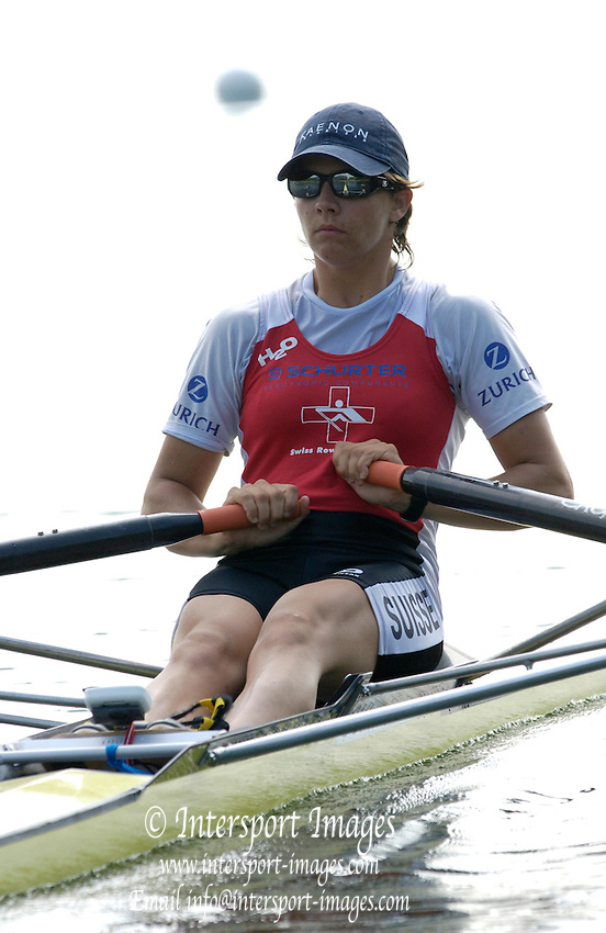 2006, U23 Rowing Championships, Hazewinkel, BELGIUM Thursday, 20.07.2006. SUI BW1X Regina NAUNHIEM,. Photo  Peter Spurrier/Intersport Images email images@intersport-images.com....[Mandatory Credit Peter Spurrier/ Intersport Images] Rowing Course, Bloso, Hazewinkel. BELGUIM