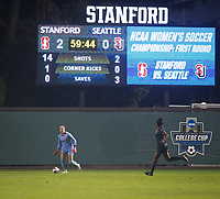 Stanford Soccer W vs Seattle, November 9, 2018