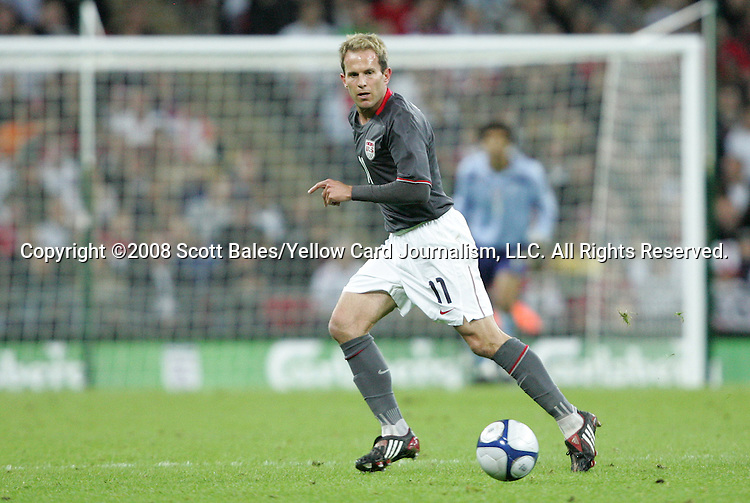 28 May 2008: Eddie Lewis (USA). The England Men's National Team defeated the United States Men's National Team 2-0 at Wembley Stadium in London, England in an international friendly soccer match.