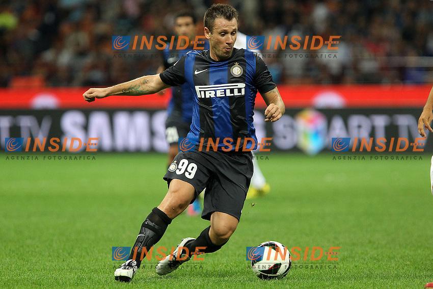 """Antonio Cassano Inter..Milano 02/09/2012 Stadio """"S.Siro""""..Football Calcio Serie A 2012/13..Inter v Roma..Foto Insidefoto Paolo Nucci.."""