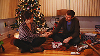 Happy Christmas (2014) <br /> Melanie Lynskey &amp; Joe Swanberg<br /> *Filmstill - Editorial Use Only*<br /> CAP/KFS<br /> Image supplied by Capital Pictures