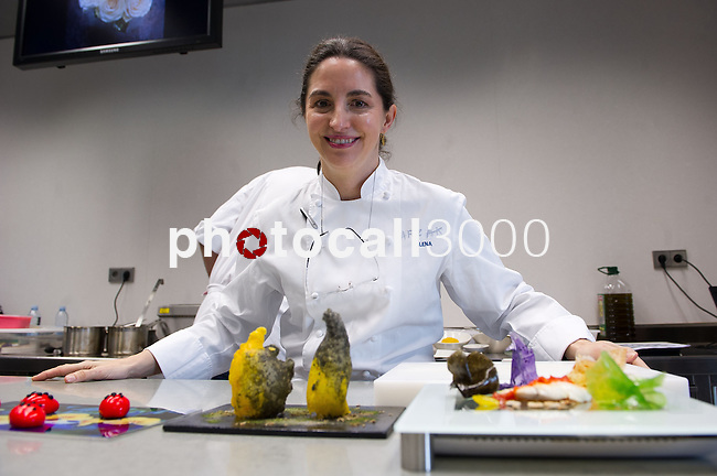 Elena Arzak imparte una  Masterclass en el Basque Culinary Center 14/02/2013