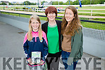 l-r  Emma Quigley, Sheila Quigley and Ciara Quigley from Caherciveen enjoying the Kerry GAA Night of Champions at the Kingdom Greyhound Stadium on Friday